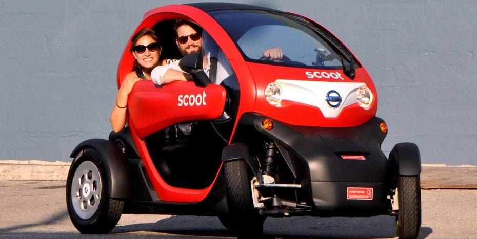 El Renault Twizy llega a Estados Unidos con logo Nissan: Se podrá alquilar en San Francisco