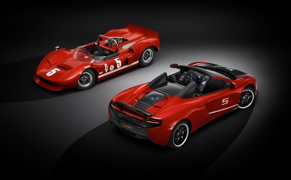 McLaren 650S CAN-AM: Un curioso look de 345.468 euros para celebrar los triunfos de hace 50 años