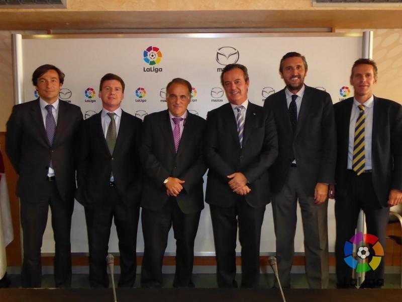 Mazda se convierte en patrocinador de la Liga de Fútbol Profesional para esta temporada