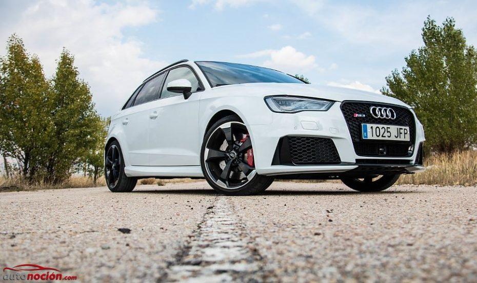 Prueba Audi RS 3 Sportback 2.5 TFSI quattro S tronic 367 CV: Un 0 a 100 km/h en 4,3 segundos y una dinámica de escándalo