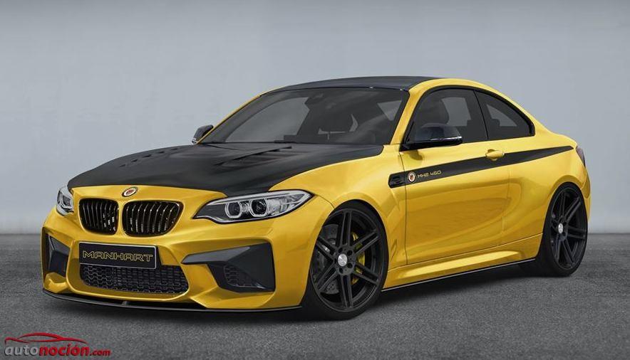 Manhart también se atreverá con el BMW M2 Coupé: 450 CV y un exterior rico en fibra de carbono