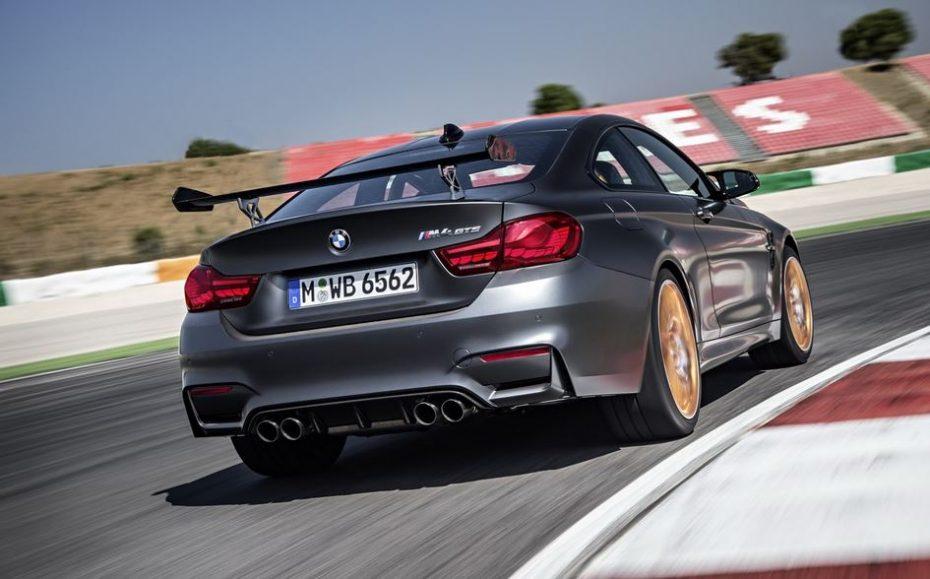 BMW M4 GTS: 500 CV, 600 Nm de par, tecnología OLED, inyección de agua, 7:28 minutos en el Infierno Verde y mucho más