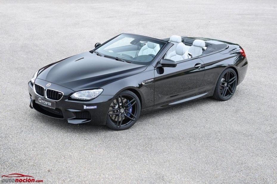 G-Power quiere un BMW M6 Cabrio más salvaje: 740 CV para superar los 300 km/h