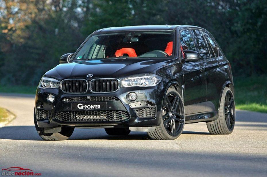 Saluda a la nueva bestia bávara: G-Power eleva la potencia del BMW X5 M hasta los 700 CV