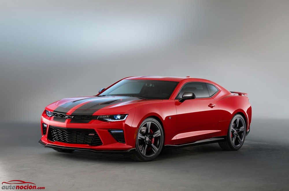 Chevrolet Camaro SS Red Accent y Black Accent: Dosis extra de deportividad y poderío
