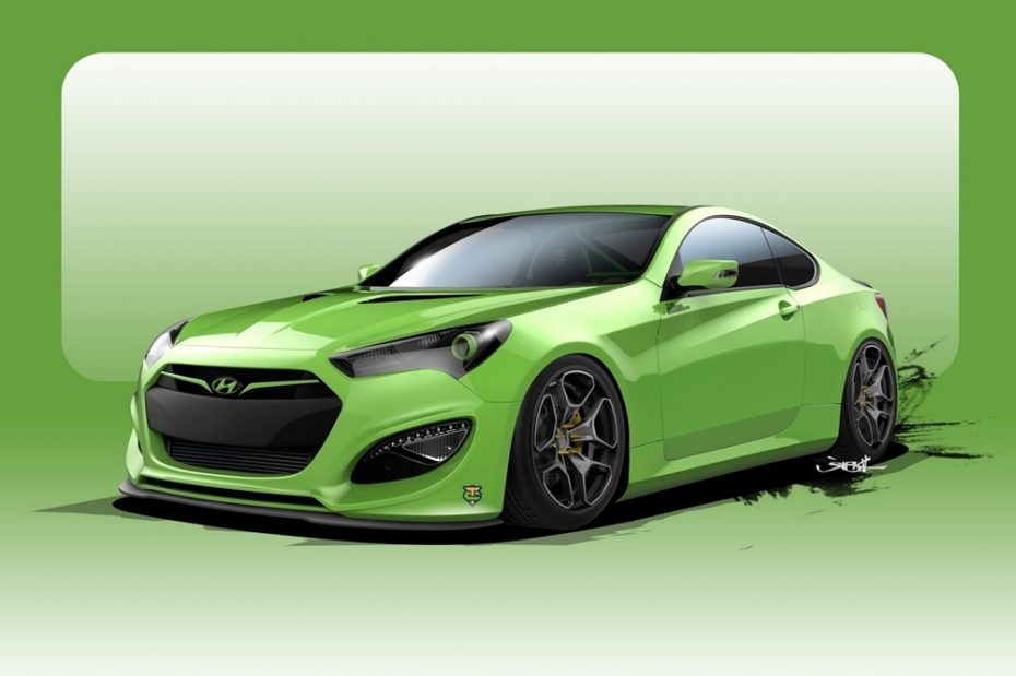 Hyundai Genesis Coupe Tjin Edition: Otra bestia coreana de 500 CV para el SEMA Show