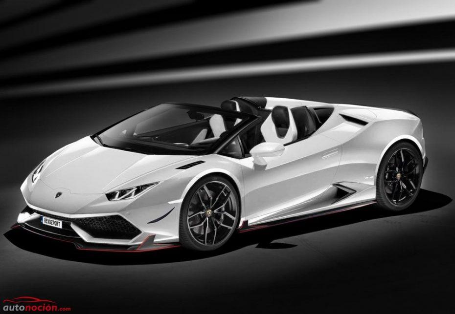La dieta RevoZport: 100 kg menos y 700 CV para el Lamborghini Huracan