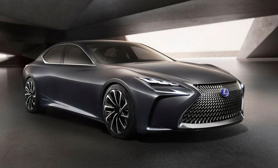 Lexus LF-FC Concept: Un anticipo de la próxima generación del LS, el buque insignia de la marca