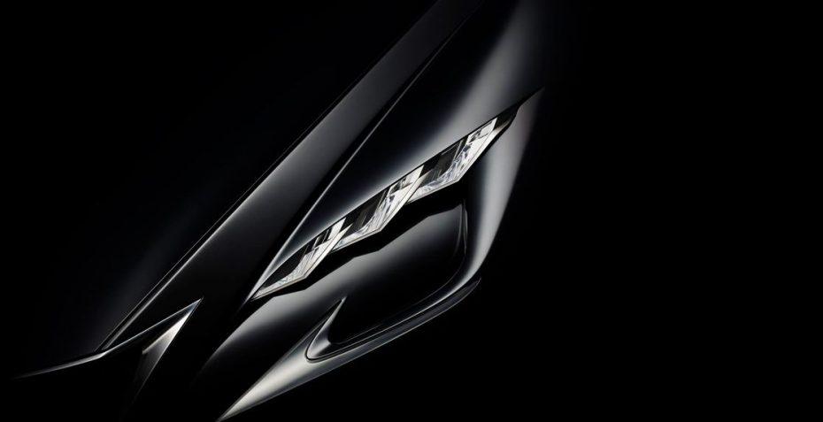 Lexus nos muestra una imagen antes del Salón de Tokio: ¿Un vistazo previo del nuevo LS?
