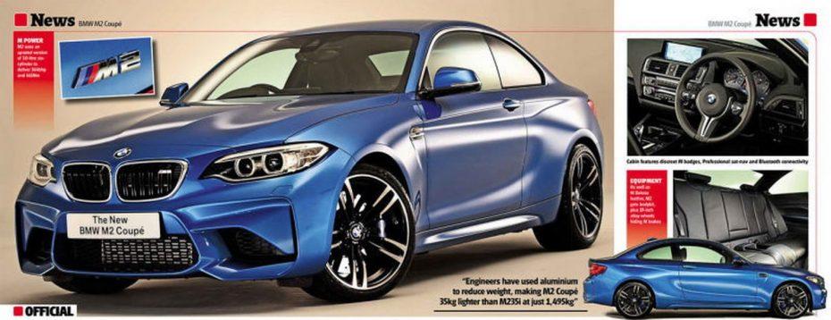 El esperado BMW M2 'asoma la patita' en la Red: lo conoceremos esta misma tarde