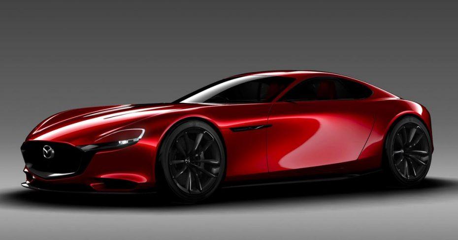 Mazda RX-VISION: La mecánica rotativa está de vuelta y se llama SKYACTIV-R