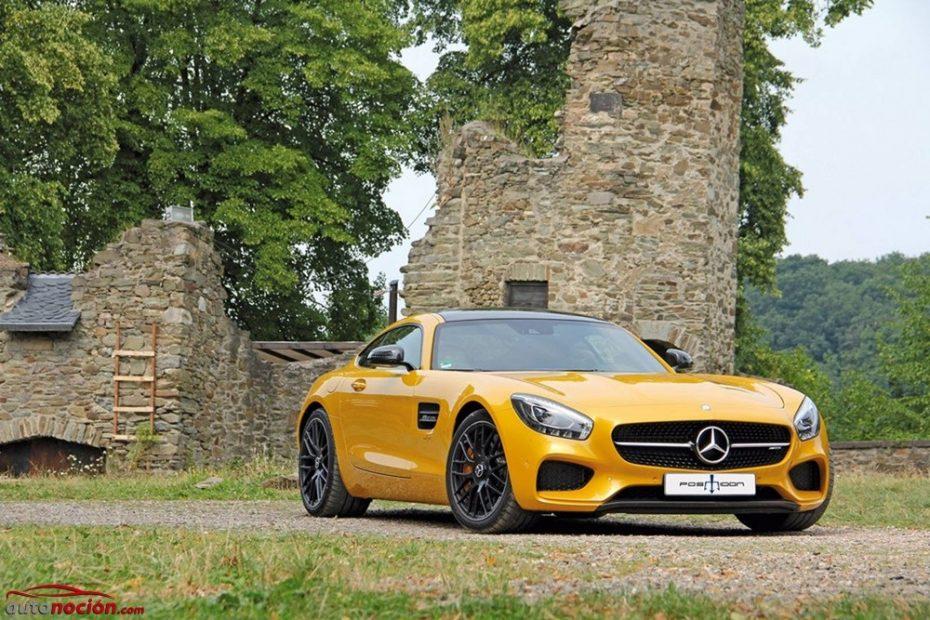 Posaidon Mercedes-AMG GT RS: Extrayéndole el máximo jugo al coupé de la Estrella