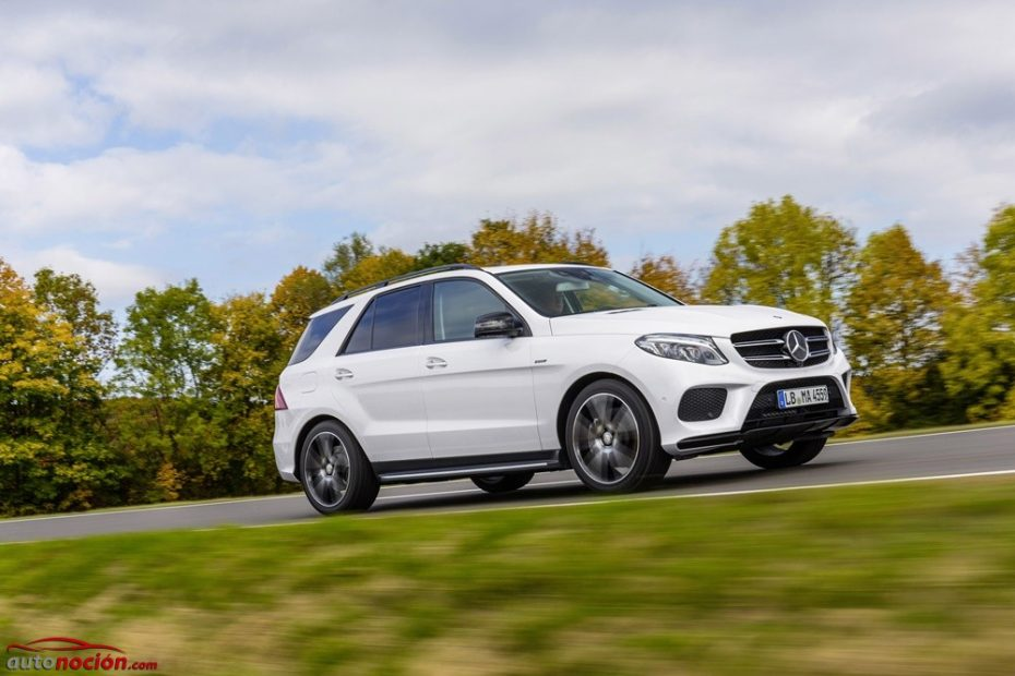 Llega el Mercedes-Benz GLE 450 AMG 4MATIC: 367 CV de auténtico poderío alemán