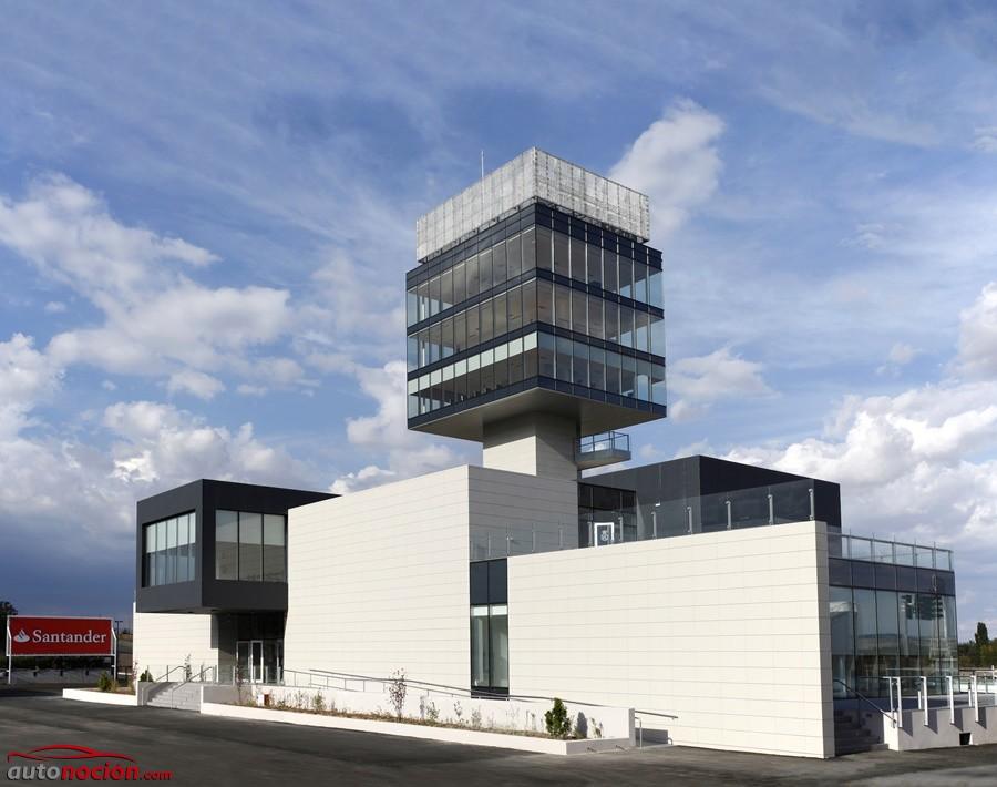 Así de moderna luce la nueva Torre de Control del Jarama: El icono del circuito resucita