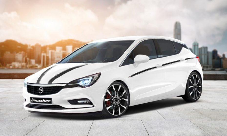 Irmscher calienta motores: El nuevo Opel Astra parece una buena base para recibir sus mejoras