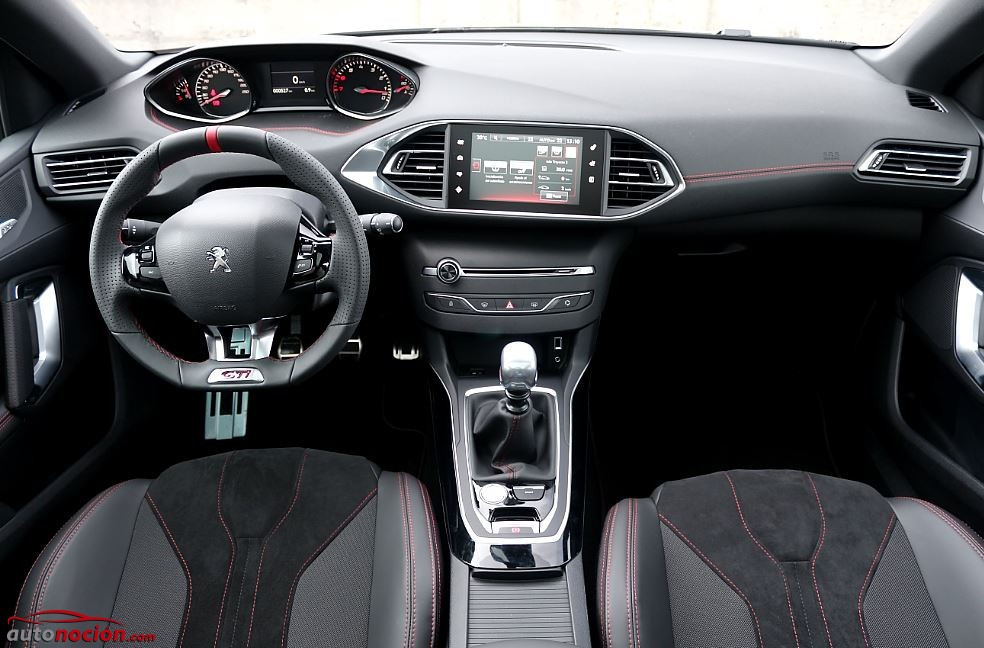 308 gti interior pictures to pin on pinterest pinsdaddy for Interior peugeot 308