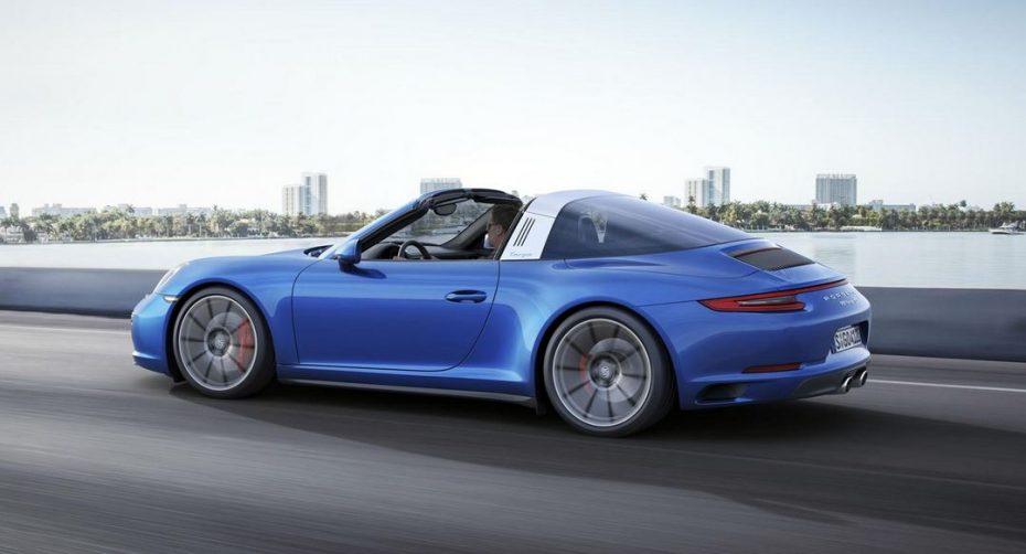 La gama Porsche 911 llega cargada de novedades en 2017: Más conectividad y aumentos de potencia