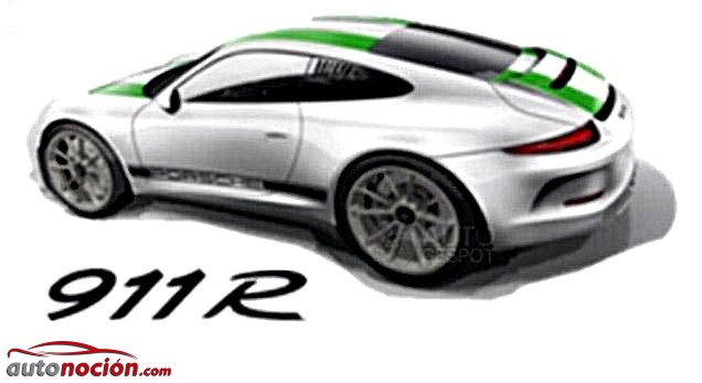 Porsche 911 R render
