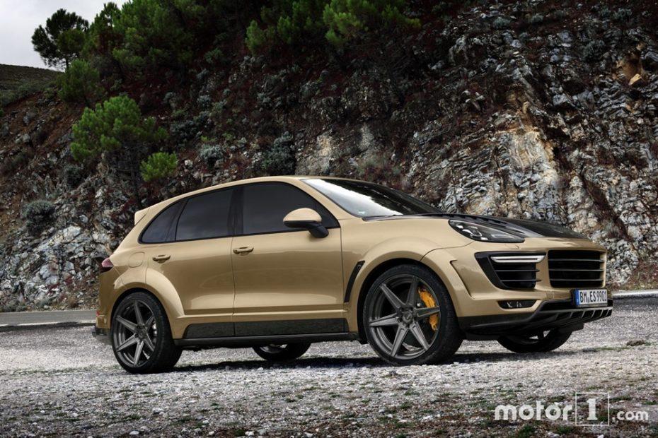 Brillante pero prohibitivo: 180.000 euros y 600 CV para el Porsche el Cayenne Turbo de TopCar