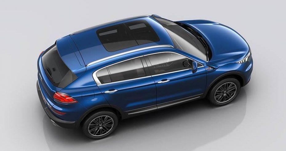 Qoros 5 SUV: Primeras imágenes oficiales del SUV de mayor tamaño de la marca