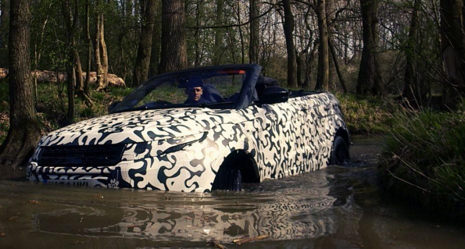 Range Rover Evoque Convertible: No por ser descapotable perderá la esencia de la marca