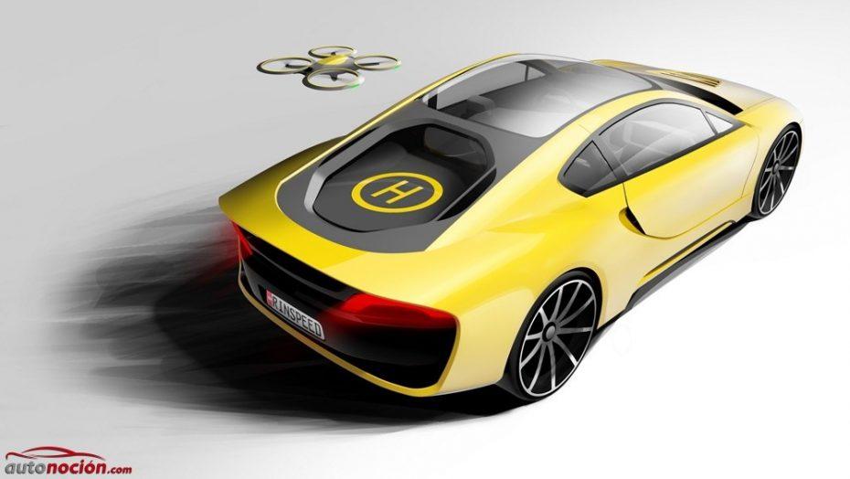 Rinspeed Ʃtos: un deportivo inteligente, autónomo, híbrido y con helipuerto para tu dron incluido