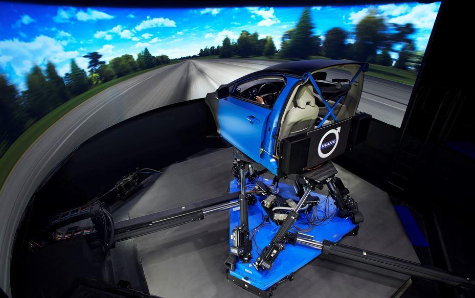 Ojo al simulador que ha comprado Volvo para el desarrollo de nuevos modelos