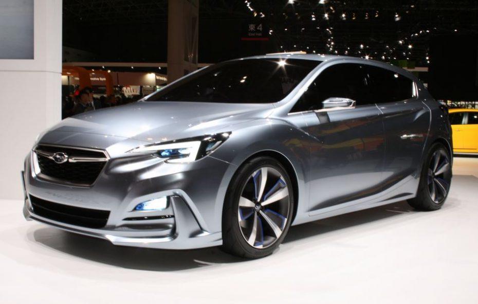 """Subaru """"Impreza 5-Door Concept"""": En vivo y en directo parece que ha tenido un anodino debut"""