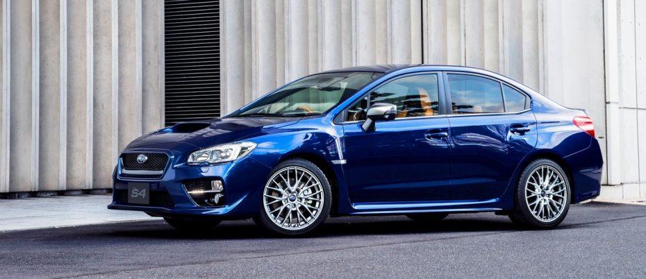 Subaru WRX S4 SporVita: Prestaciones combinadas con un ambiente más lujoso
