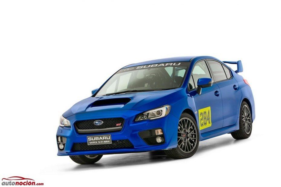 Subaru WRX STI NR4: solo apto para los circuitos y, por desgracia, para el mercado australiano
