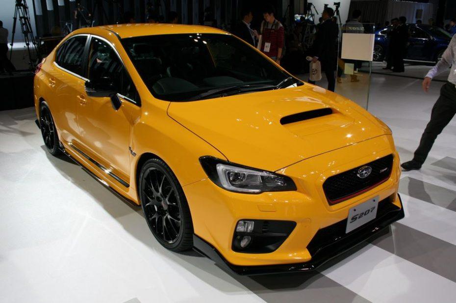 """Subaru WRX STI """"S207"""" NBR Challenge Package Yellow Edition: El tipo duro del Salón de Tokio, ahora en directo"""