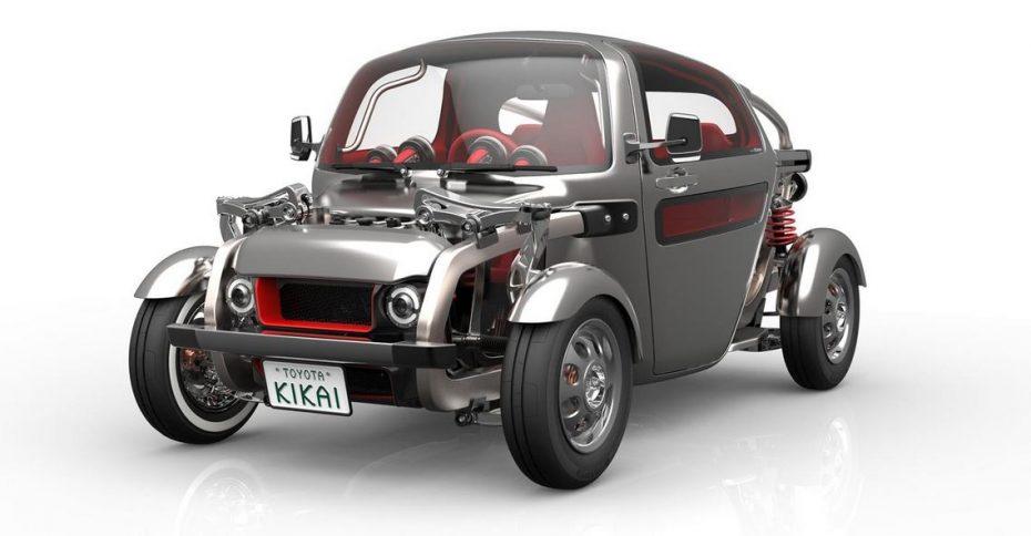 Toyota KIKAI: Un Concept con aspecto de Hot Rod diseñado para interacturar con el aspecto mecánico