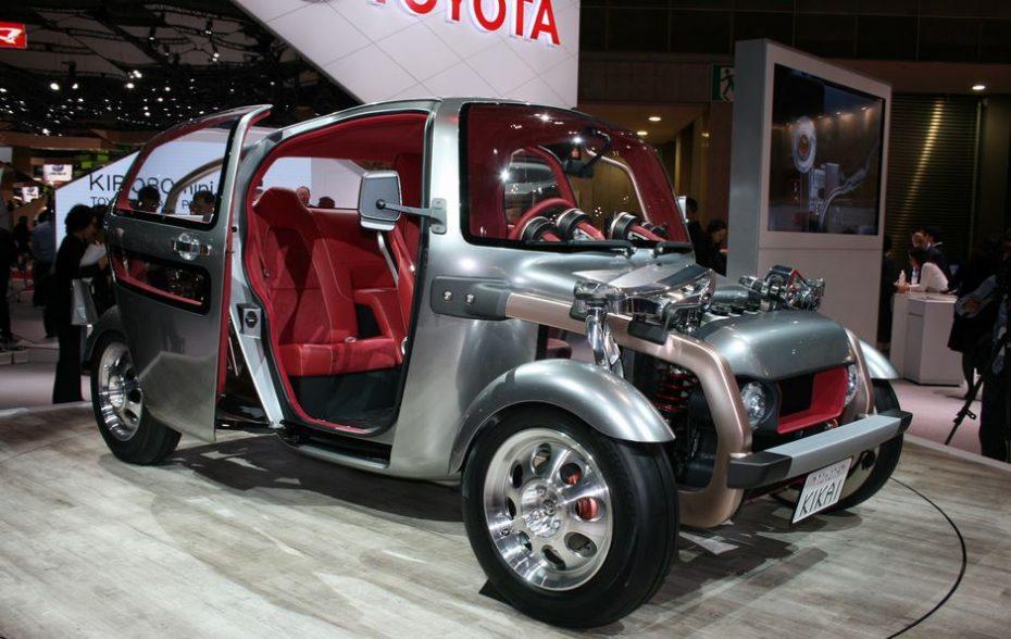 Toyota KIKAI: El extraño Hot Rod conceptual gana enteros en directo