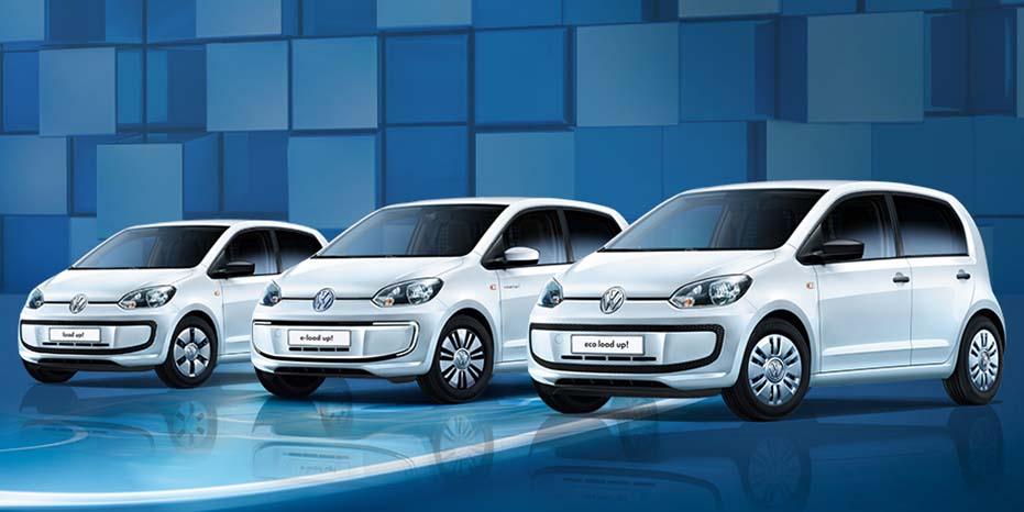 Llega a España el Volkswagen Load-Up!: Un diminuto vehículo comercial para uso urbano