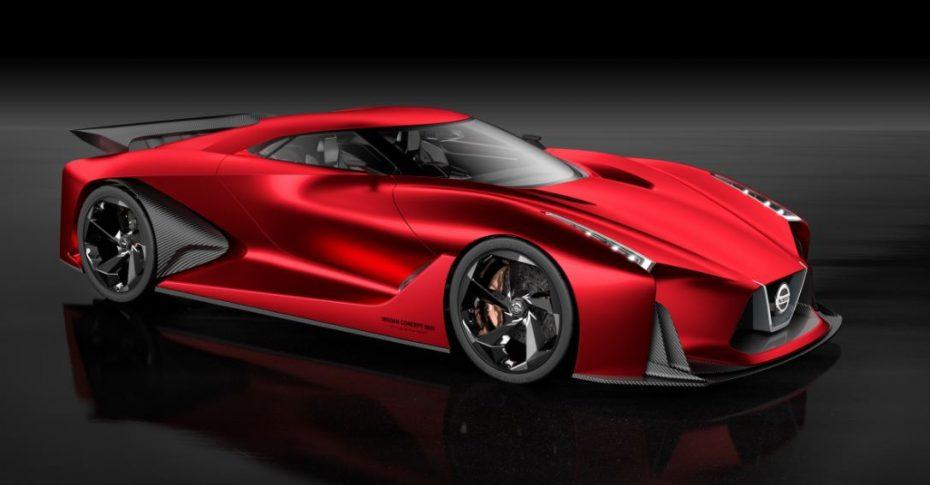 Este concept de Nissan da miedo y el futuro GT-R basará su diseño en estas líneas