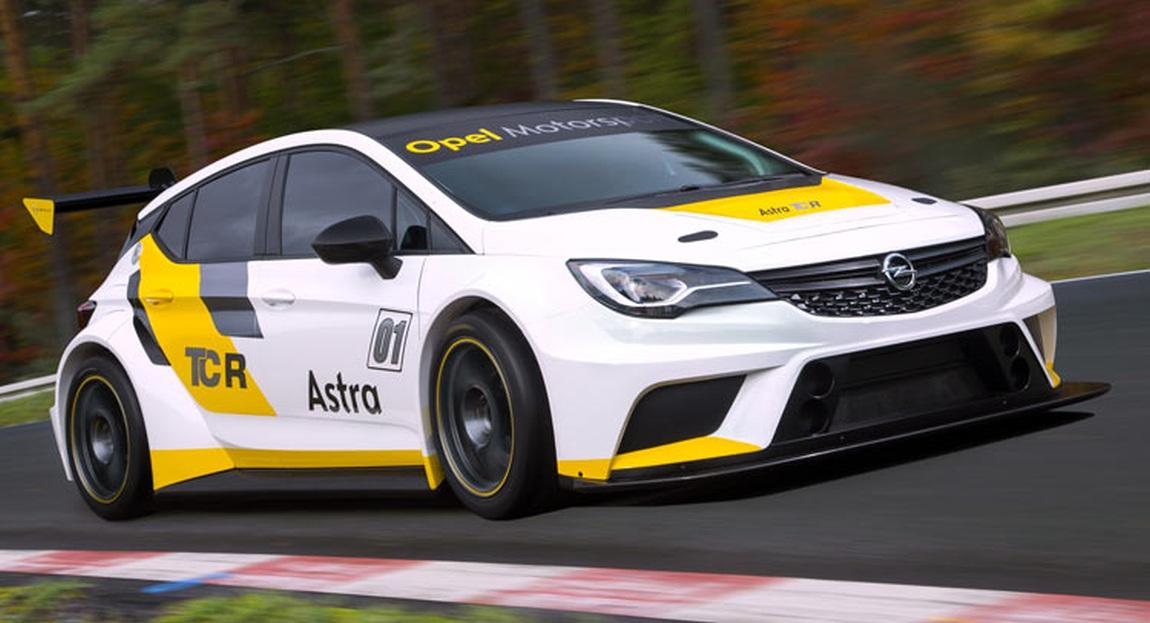 Aquí está el Opel Astra TCR: 330 CV de potencia y 95.000 € sin impuestos