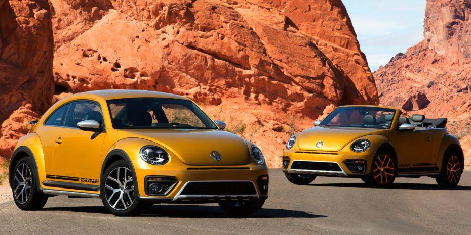 """Así es el Volkswagen Beetle """"Dune"""" de producción: Estética campera para el ícono"""