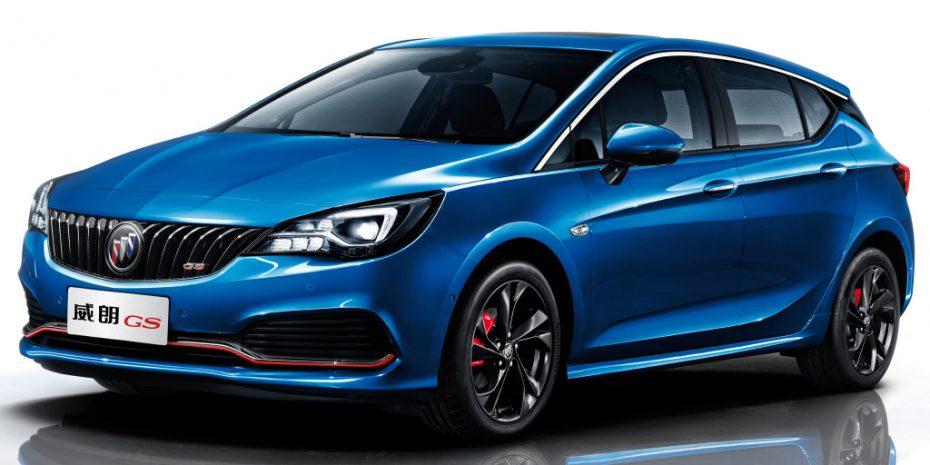 El Buick Verano GS ya es oficial: Así luce el Opel Astra para China