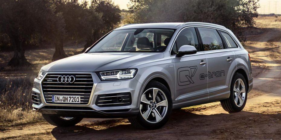 Audi presenta el Q7 e-Tron: 373 CV y un consumo medio de sólo 1,7 L/100