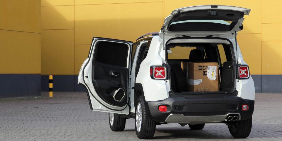 """Así es el Jeep Renegade """"Van"""": Saca su lado más práctico con 1.500 litros de capacidad"""