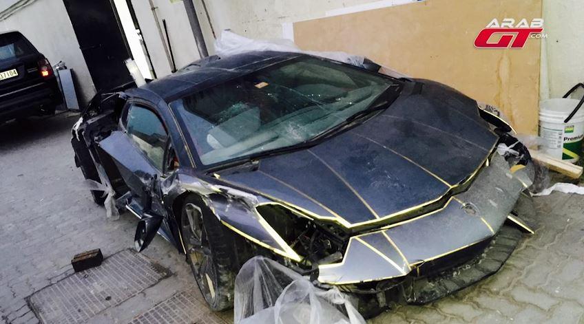 Lo creas o no, este desastroso Aventador ha costado 89.961 euros: ¡De locos!