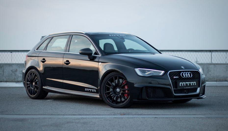 Audi RS3 MTM: 435 CV y más de 300 km/h de punta, ¡Se espera uno de 500 CV!