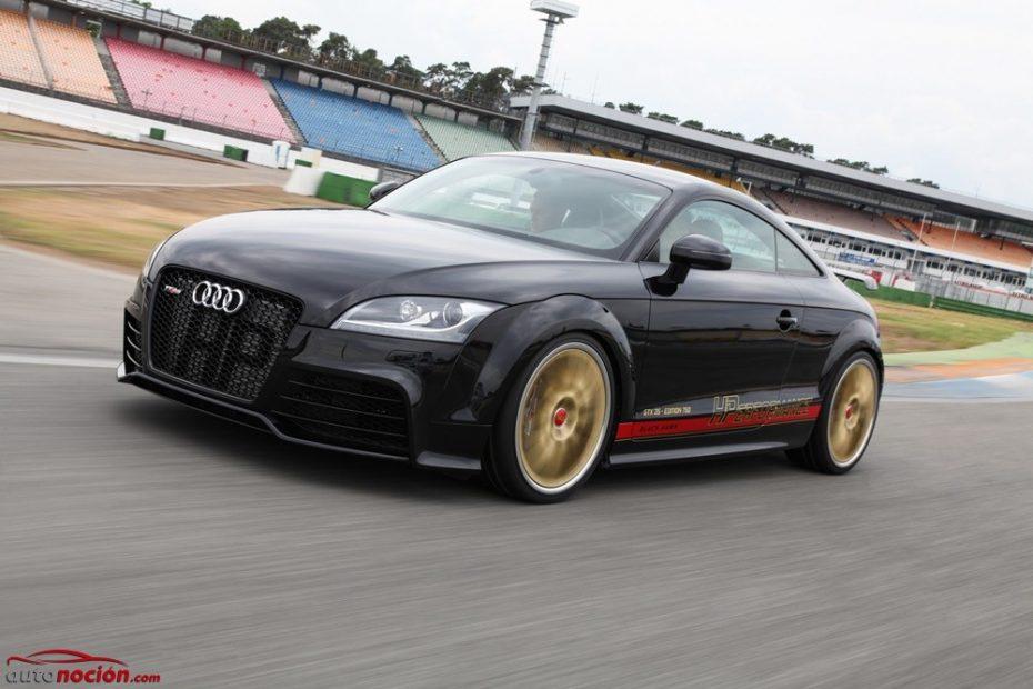 El Audi TT RS es una bestia salvaje, pero con 410 CV extra es: BRUTAL