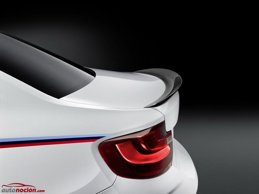 Los accesorios M Performance también llegan al nuevo BMW M2: El coupé, más salvaje que nunca