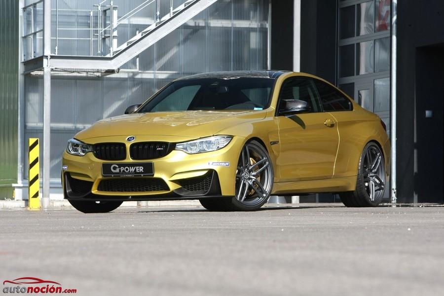Una auténtica bala dorada: el BMW M4 se revitaliza con 129 CV extra cortesía de G-Power