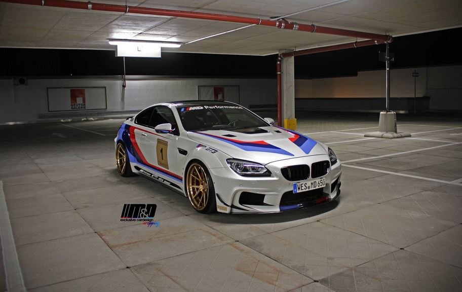 Espectacular: Así es el BMW 650i de Prior Design y M&D, influencias del GT3