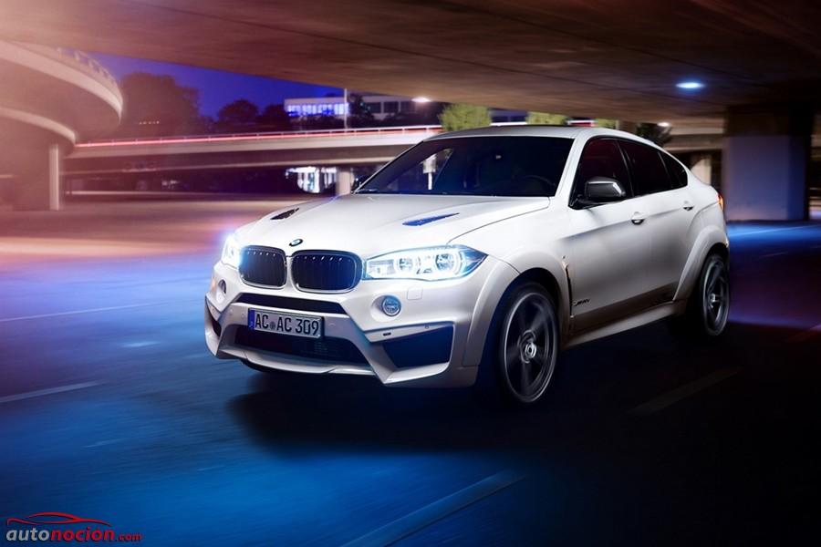 La gama del BMW X6 luce ahora más potente y radical gracias a los retoques de AC Schnitzer