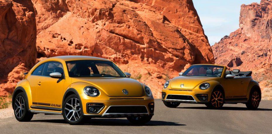 El Volkswagen Beetle Dune llega a Europa: Aquí los precios para Alemania