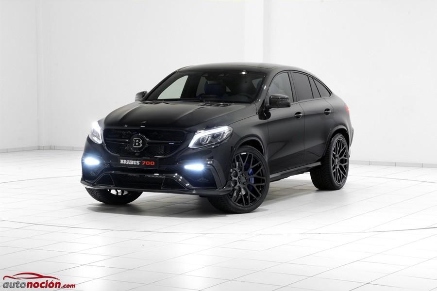 Brabus 700 Coupé: Una poderosa bestia oscura en formato SUV