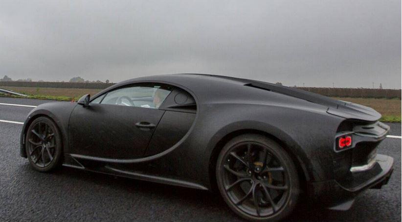 El sucesor del icónico Bugatti Veyron se deja ver otra vez: Saluda nuevamente al Chiron